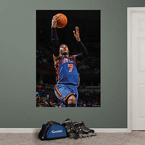 Carmelo Anthony Mural Fathead Wall Decal